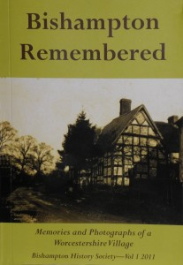 Bishampton Remembered book