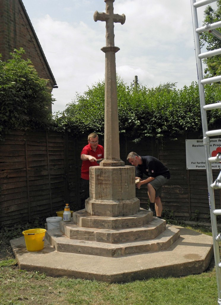 War Memorial repair work