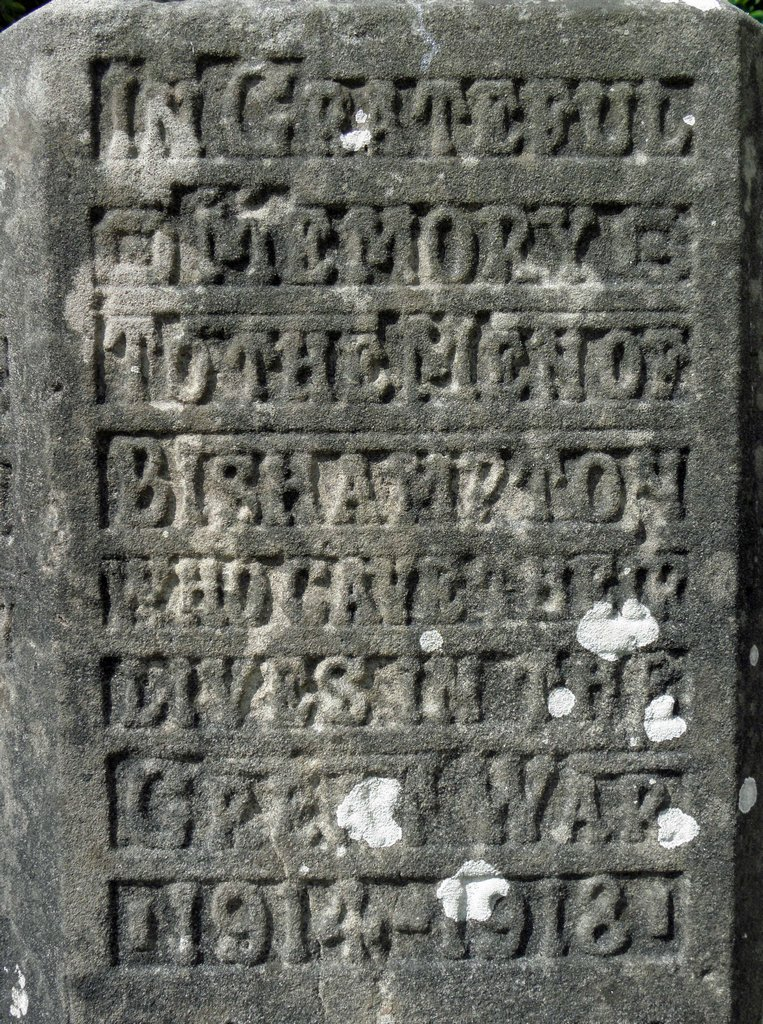 Title panel - before restoration