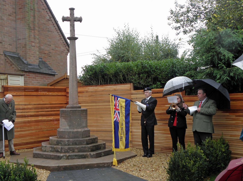 Re-dedication, with Pershore R B L
